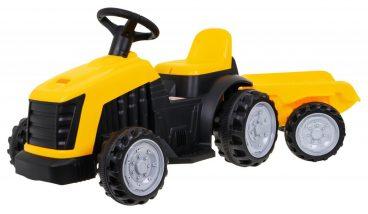 Detsky slapaci traktor s vleckou 135cm, hracky pre deti, nase hrackarstvo