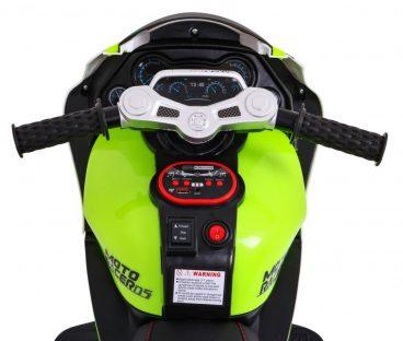 elektrická motorka super motorcycle zelena