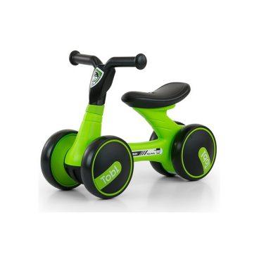 Detske odrazadlo TOBI – Zeleno-cierne, hracky pre deti, nase hrackarstvo
