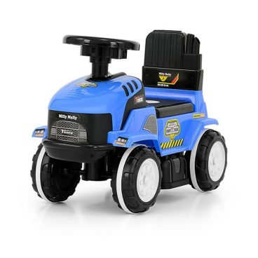 detske odrazadlo Traktor so zvukom – modre, hracky pre deti, nase hrackarstvo