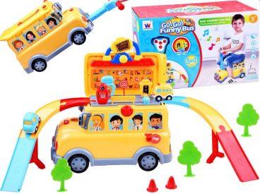 autobus skolsky odrazadlo, hracky pre deti, nase hrackarstvo