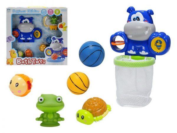 Bath Toys - Hroch do kúpeľa s prísavkou a sieťkou