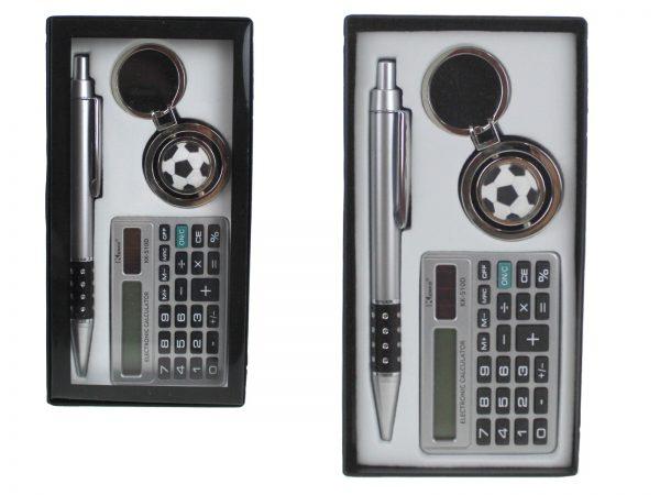Darčeková súprava, pero + Zrkadielko + kľúčena v krabičke 16x 8,5 cm
