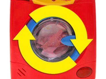 Automatická práčka pre deti so svetlom a zvukom