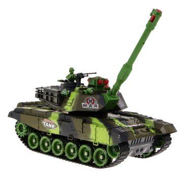Diaľkovo ovládaný tank 2.4GHz – Mierka 1:18