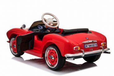 Elektrické autíčko BMW 507 Retro, červená farba RAM