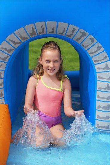 Detský vodný park Bestway + vodné delo, lezecká stena,šmýkačka