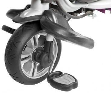 Adventure Trojkolka, penové kolesá - zelená