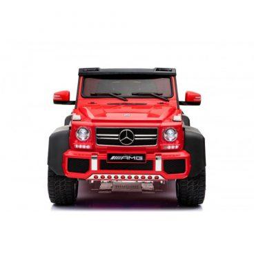 Elektrické autíčko Mercedes G63 MP4,červené -RAM