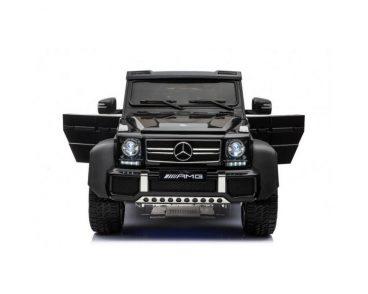 Elektrické autíčko Mercedes G63 6x6 čierne,MP3 -RAM