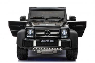Elektrické autíčko Mercedes G63 6x6 čierne,MP4-RAM