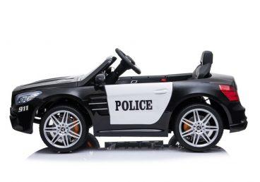 Elektrické autíčko pre deti MERCEDES SL 500 čierne, lakované