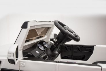 Elektrické autíčko Mercedes G63 biele,MP4-RAM