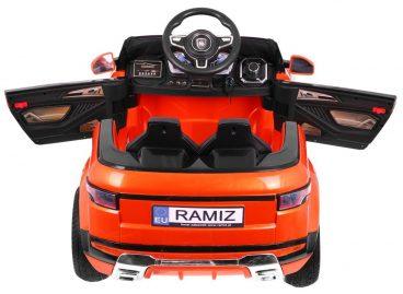 elektricke auticko rapid spacer oranzova farba